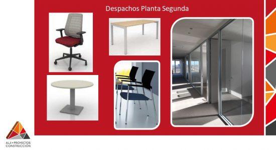 Despachos Planta Segunda