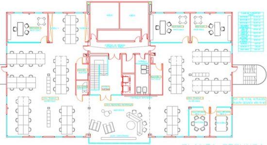 distribución interior mobiliario Pozuelo 2