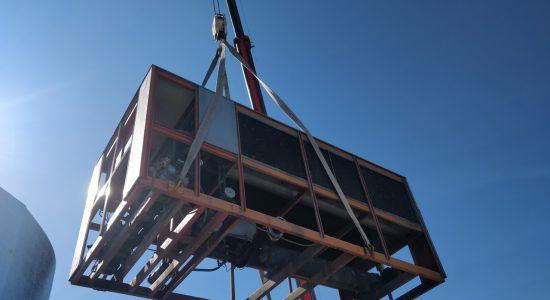 Nuevas instalaciones de climatización en C.S. Huerta de los Frailes